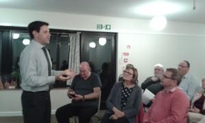Antony Hook speaking to Milton Keynes Liberal Democrat AGM.