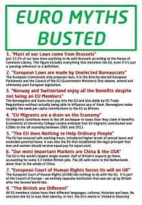 EU Myth Busters